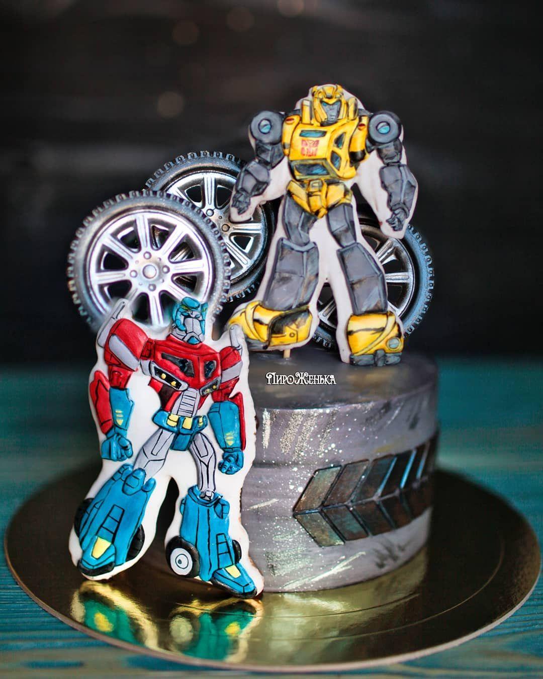 торт роботы без мастики фото