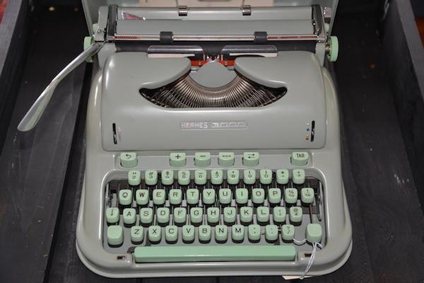 1958 Hermes 3000 Typewriter