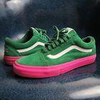 Vans X Golf Wang X Syndicate Old Skool Green Pink Size 10 5 Supreme Odd Future Vans Golf Wang Vans Old Skool Sneaker