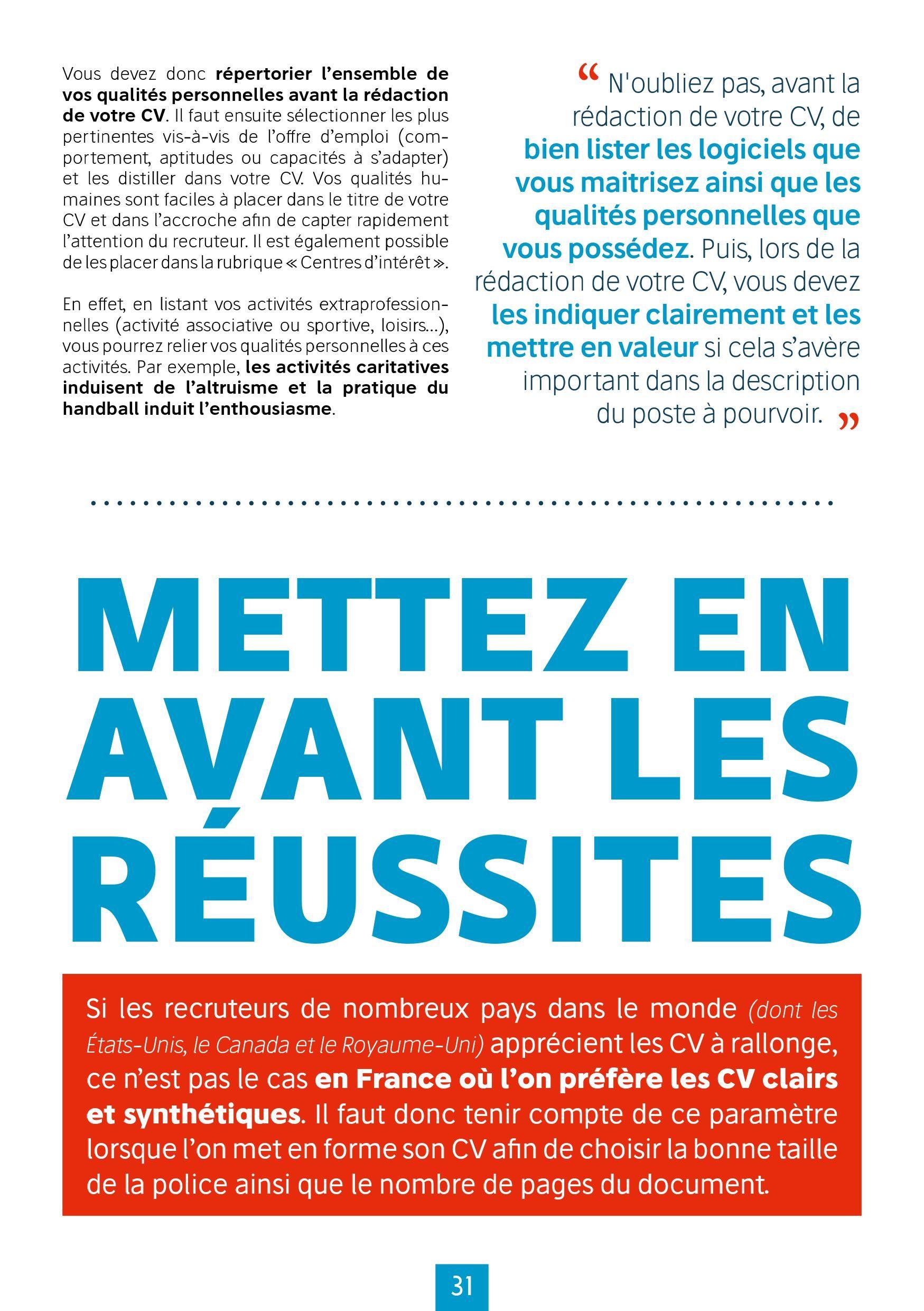 Epingle Par My Cv Factory Sur Ebook 15 Idees Pour Un Cv Qui Cartonne Offre Emploi Qualite Personnelle Le Cv