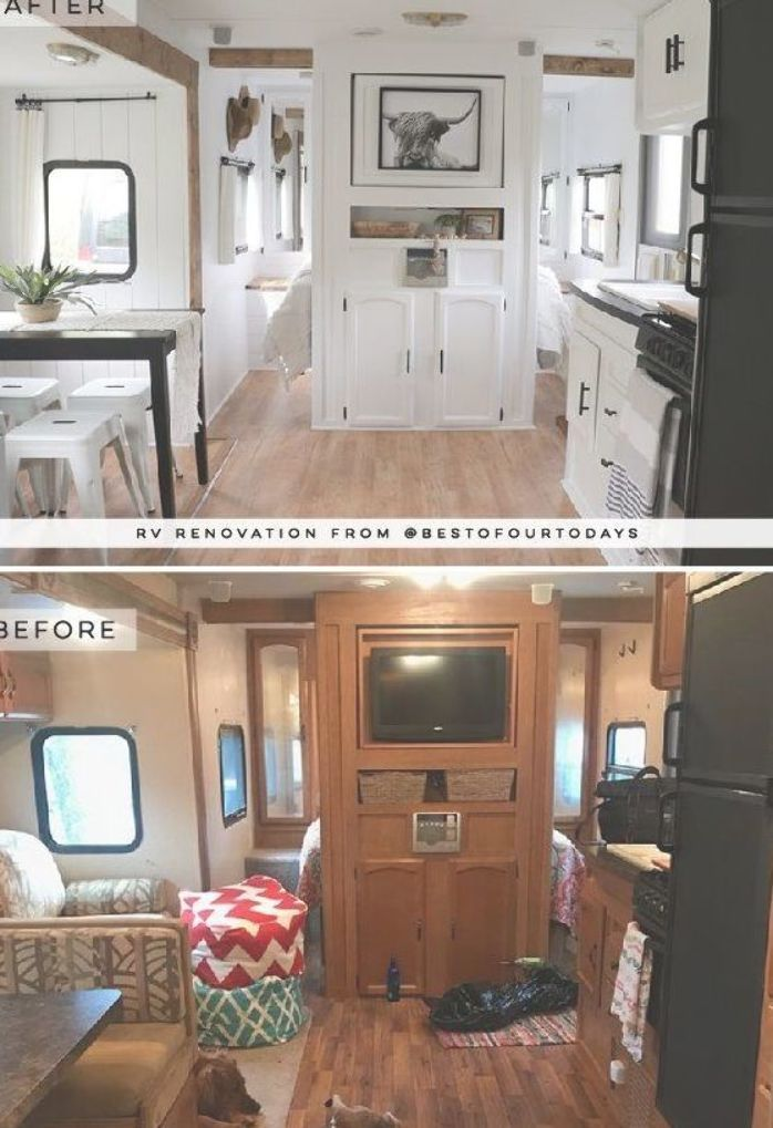 This Nashville Couple brings new life to outdated campers! Come see the before and after photos of