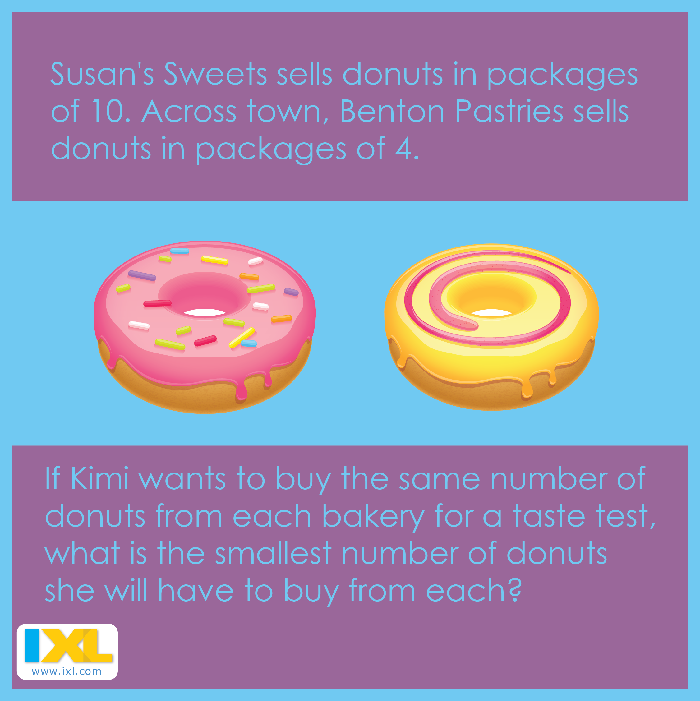 This week's MathPuzzle is pretty sweet! Maths puzzles