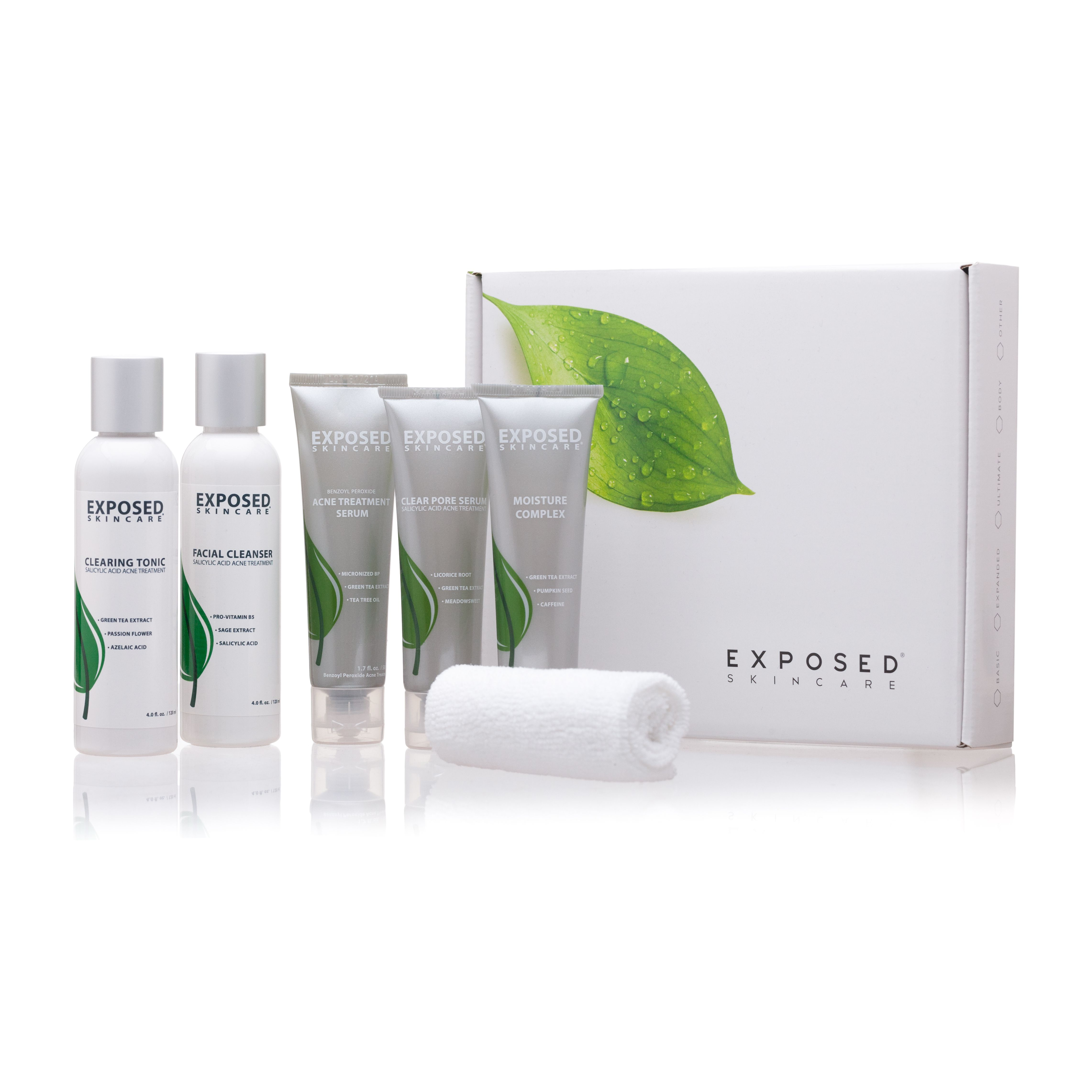 Fast Results The Exclusive Combination Of Science Nature Found In Exposed Gives You Clearer Smoother Skin Exposed Skin Care Acne Treatment Skin Care System