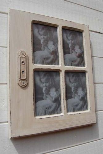 Very pretty. Vintage style window photo frame.