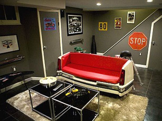 love the couch  Man Cave Themes : Home_improvement : DIY