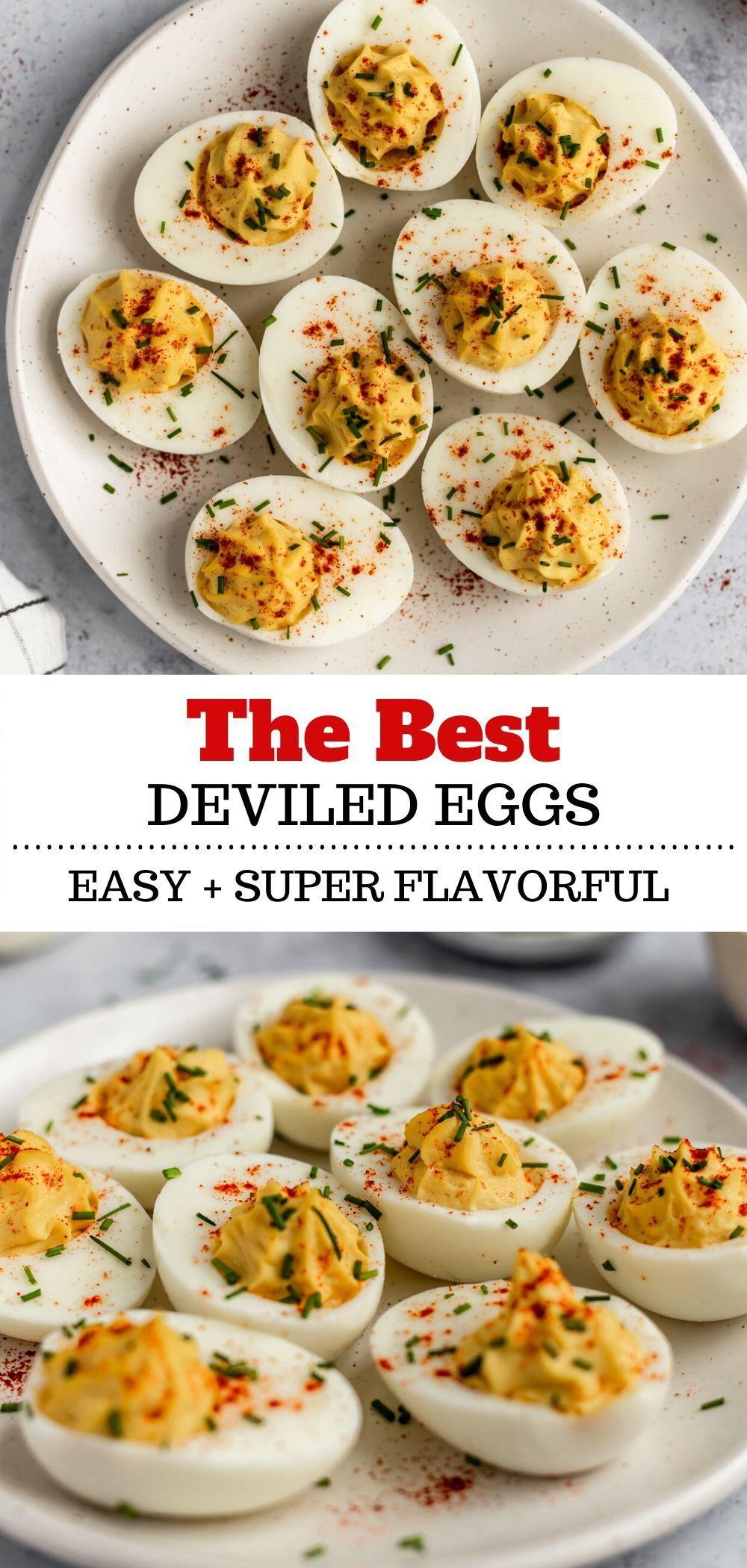 Best Deviled Eggs - Kim's Cravings