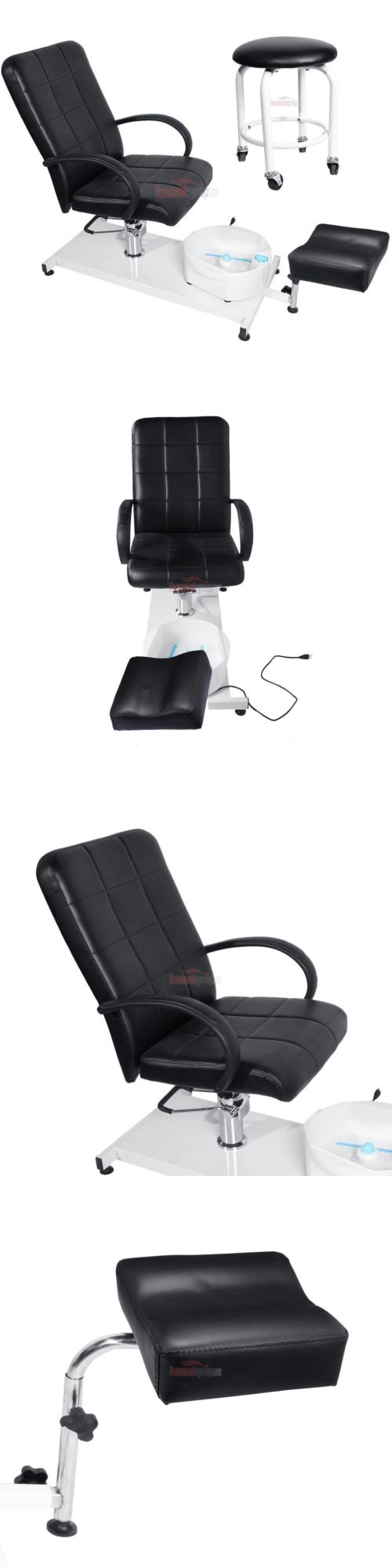 Spas Baths and Supplies: Black Pedicure Station Hydraulic Chair And ...