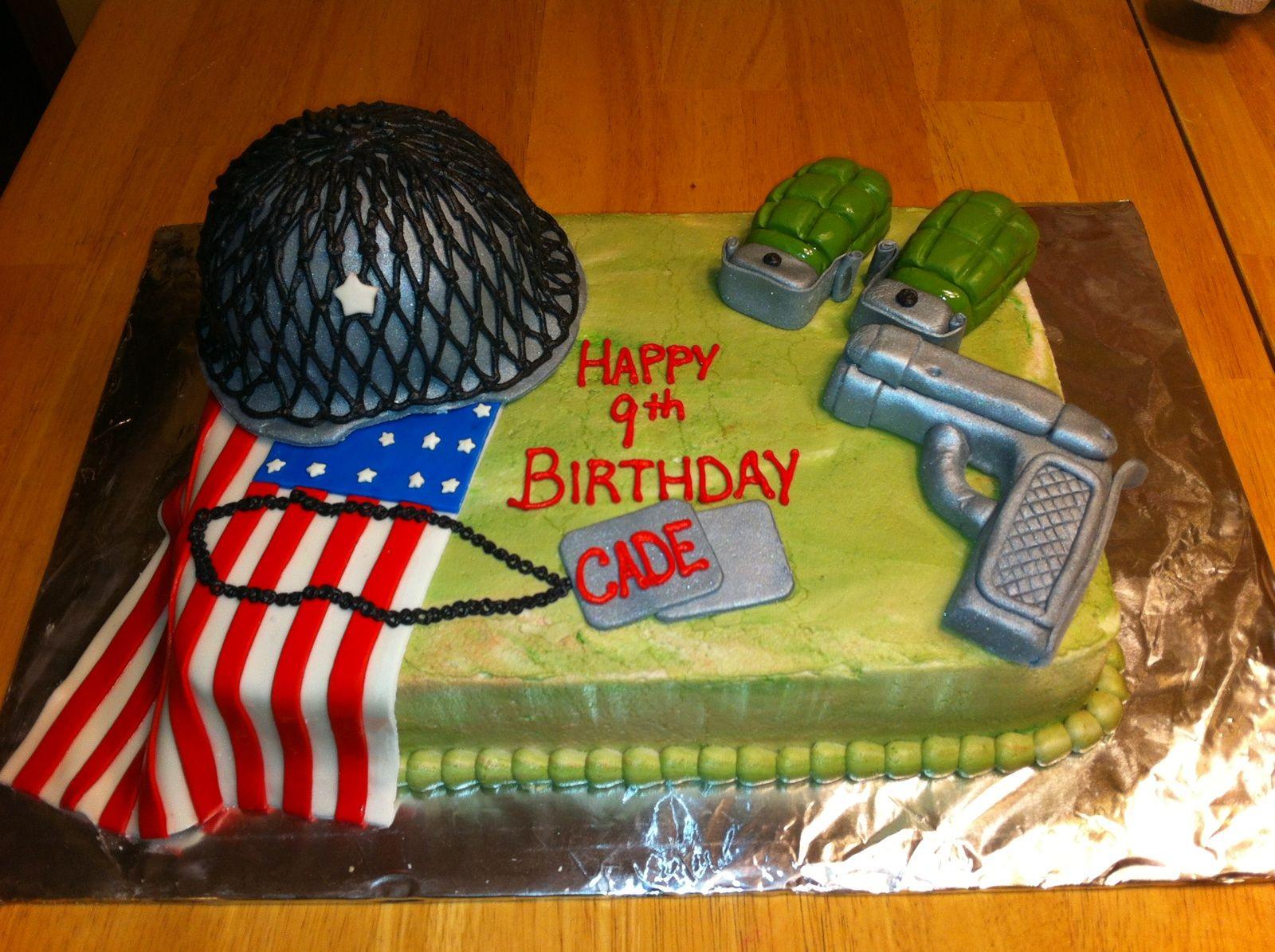 US Army birthday cake Cake Diva cakes Pinterest Army birthday