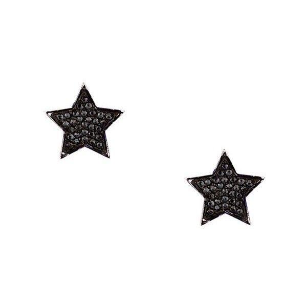Alinka STASIA diamond drop earring - Metallic 8tPO4
