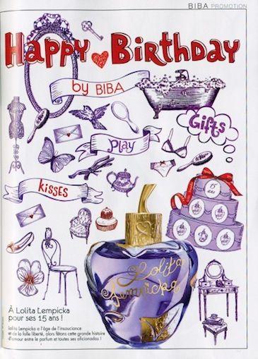 Happy Birthday Lolita by Biba