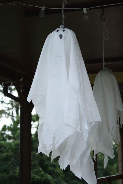 ghost, halloween, fall decor Holidays! Pinterest Halloween ideas