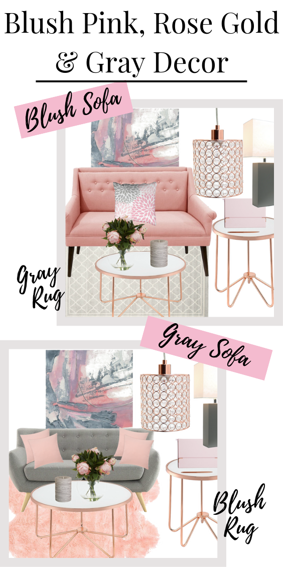Blush Crush Blush Pink Rose Gold Gray Living Room Mood Board In 2020 Pink Living Room Gold Living Room Decor Living Room Grey #rose #gold #and #grey #living #room #ideas