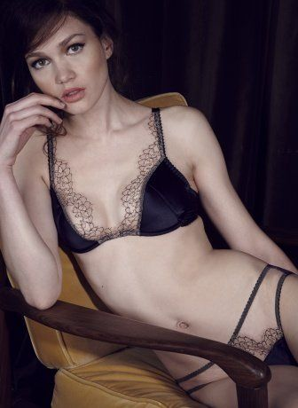 881ac5fe3e669 Desire Padded Plunge Bra and Brief - Fleur of England