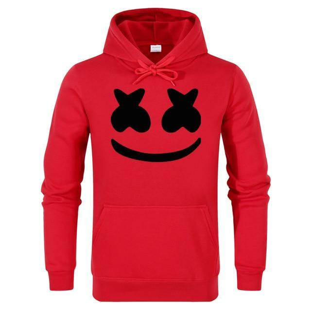 6693f7871 Marshmello Smiley Face Hoodies Men Hip Hop Fashion Streetwear Hoodie ...