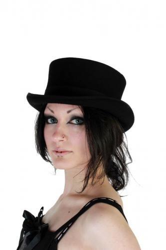 Ladies Dressage Wool Top Hat  90612f85843