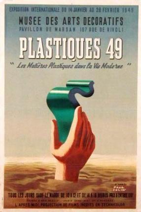 1949 PAUL  COLIN LES PLASTIQUES VIE MODERNE MUSEE ARTS DECO