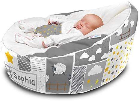 Astounding Rucomfy Luxury Cuddle Soft Counting Sheep Gaga Baby Bean Bag Machost Co Dining Chair Design Ideas Machostcouk