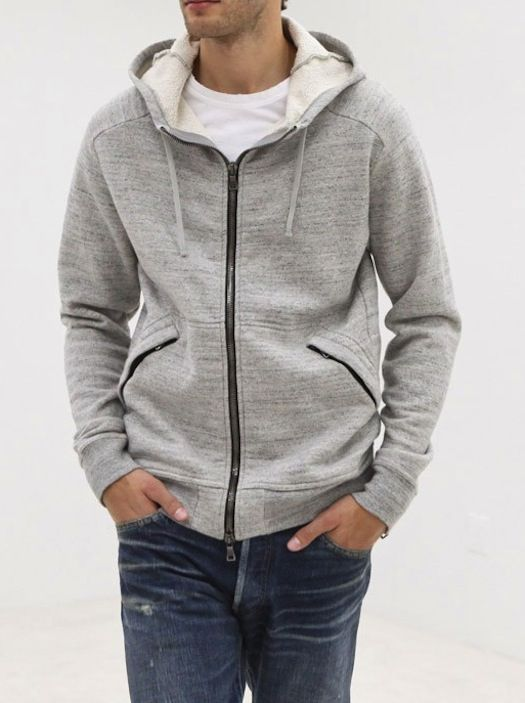 Balmain Hooded Zip Sweater « Upscale | SC's Style | Pinterest ...