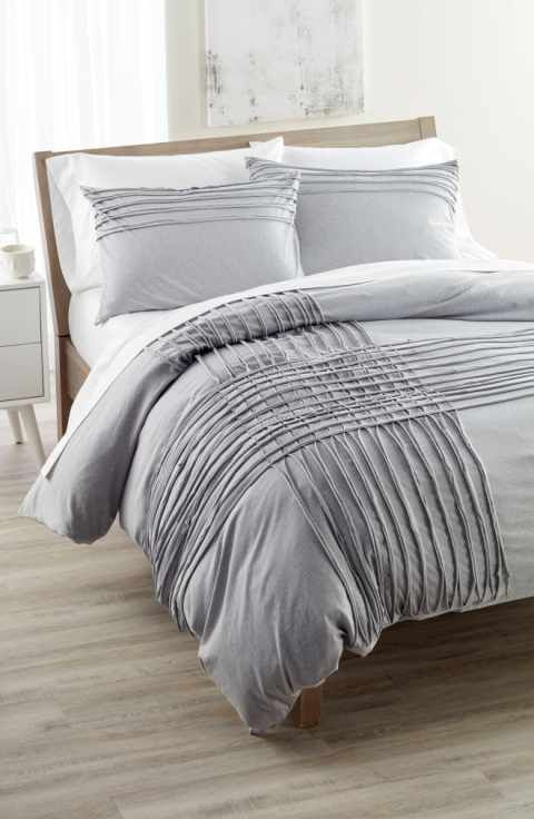 nordstrom at home jersey grid bedding collection - Nordstrom Bedding