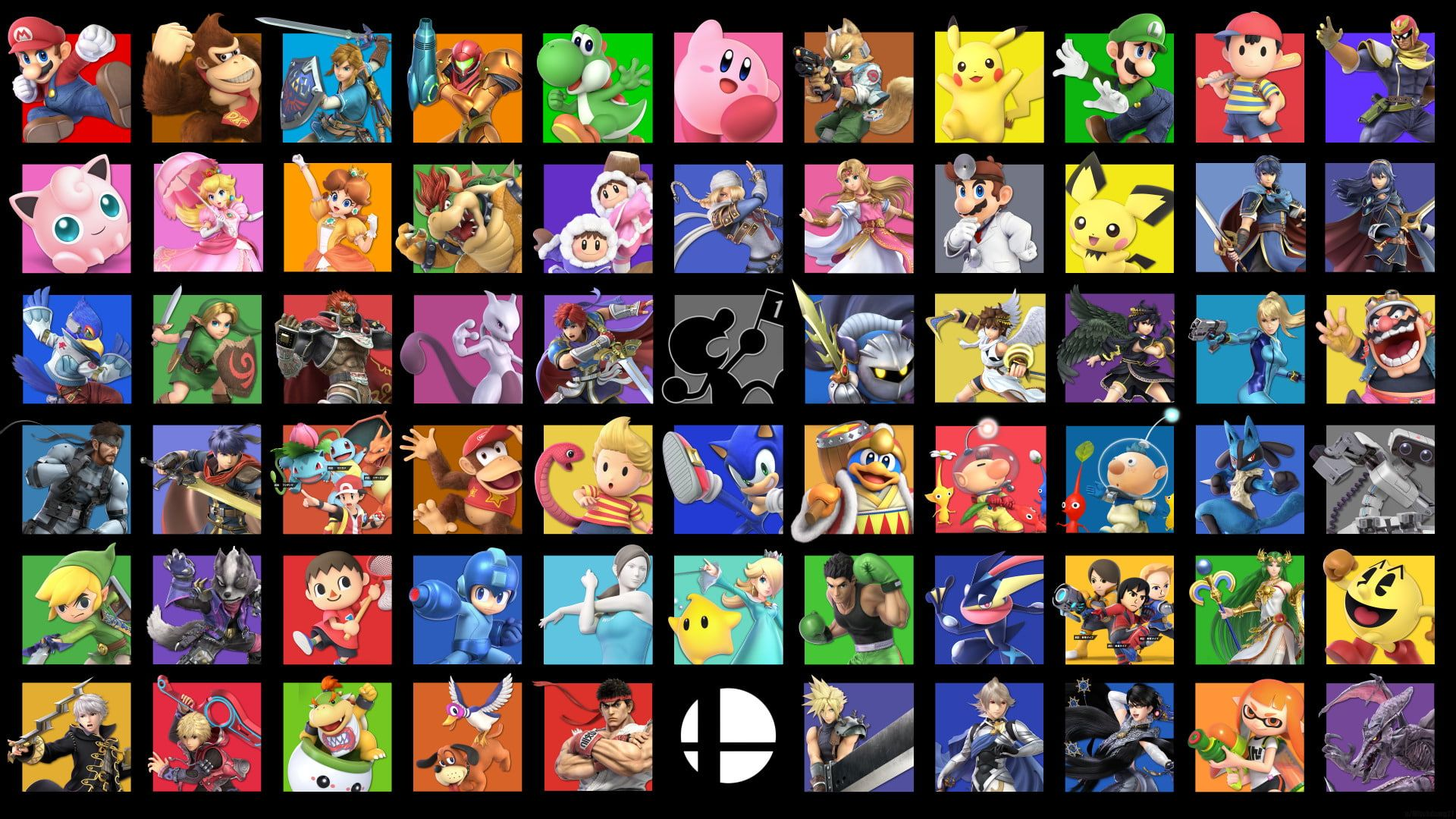 Video Game Super Smash Bros Ultimate Nintendo Super Smash Bros