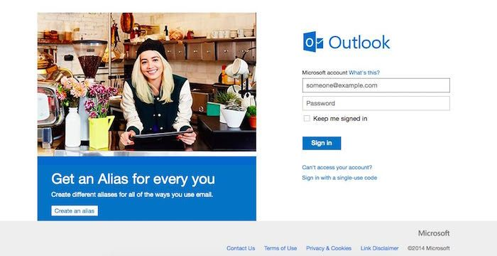 Hotmail.com Email | Login page, Email address, Microsoft