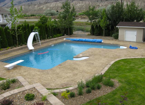20 X 42 Full L With 8 Roman Stairs 4 Contour Step 6 Diving Board And Slide Contact Us Today For A Free Pool Quote Free Pool Pool Concrete Pool