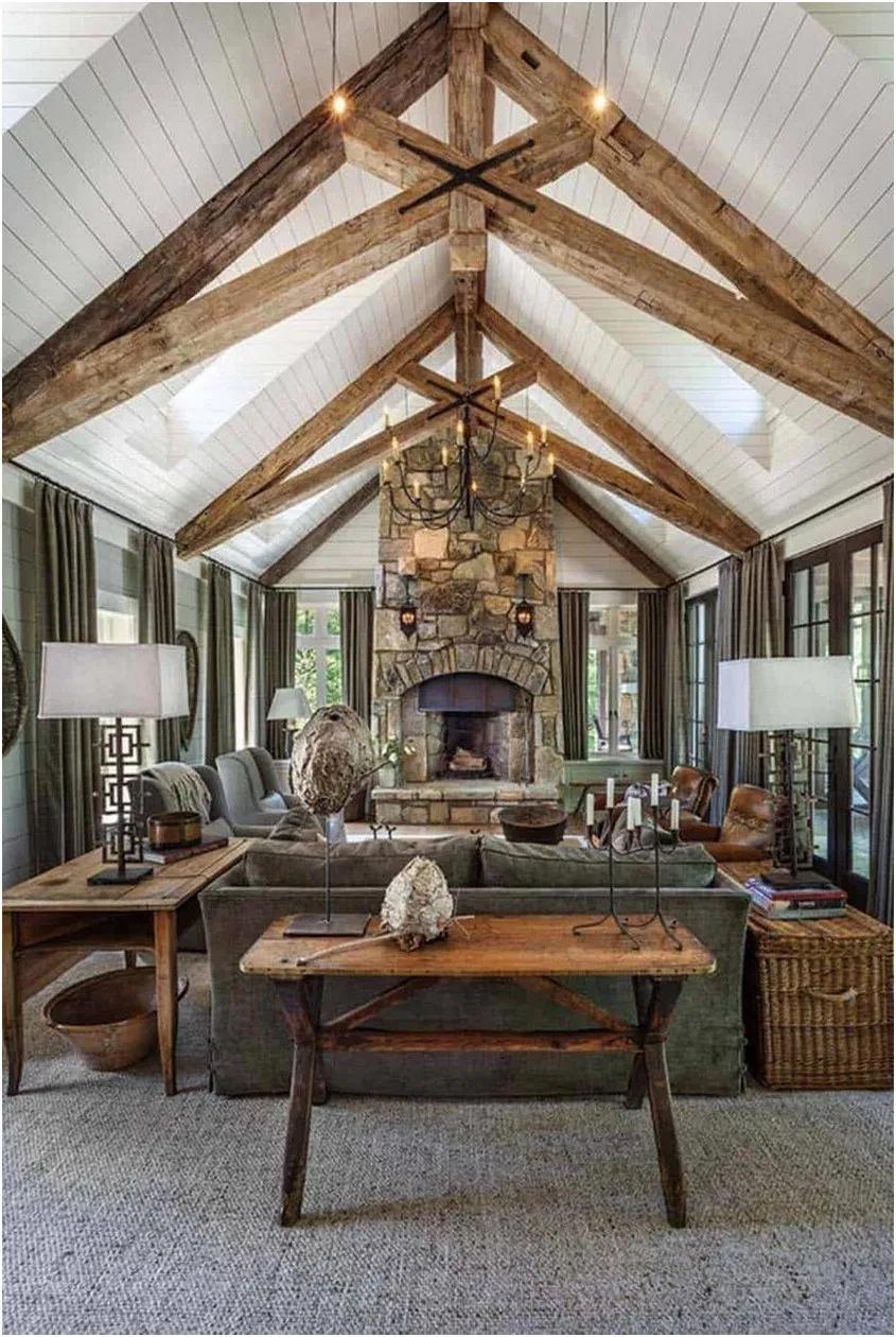 Ranch House Living Room 1 Ranchhouselivingroomideas Ranchhouselivingroomdesigns Traditio In 2020 Rustic Living Room Design Lake House Interior Rustic Home Interiors #ranch #house #living #room