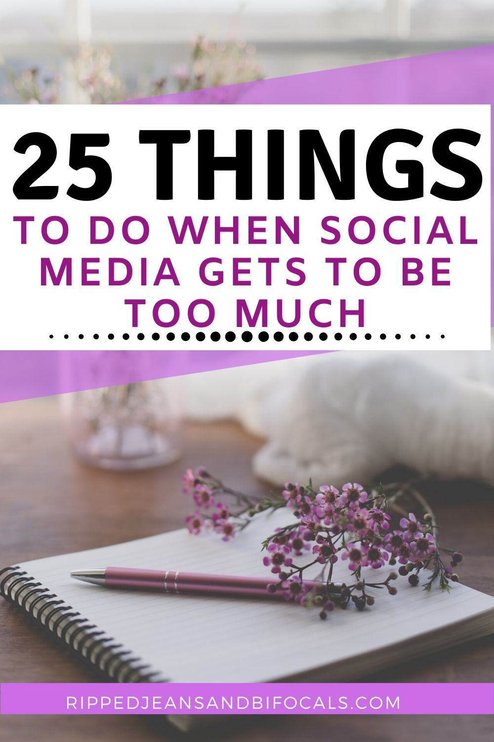 25 Things to do instead of social media Social media