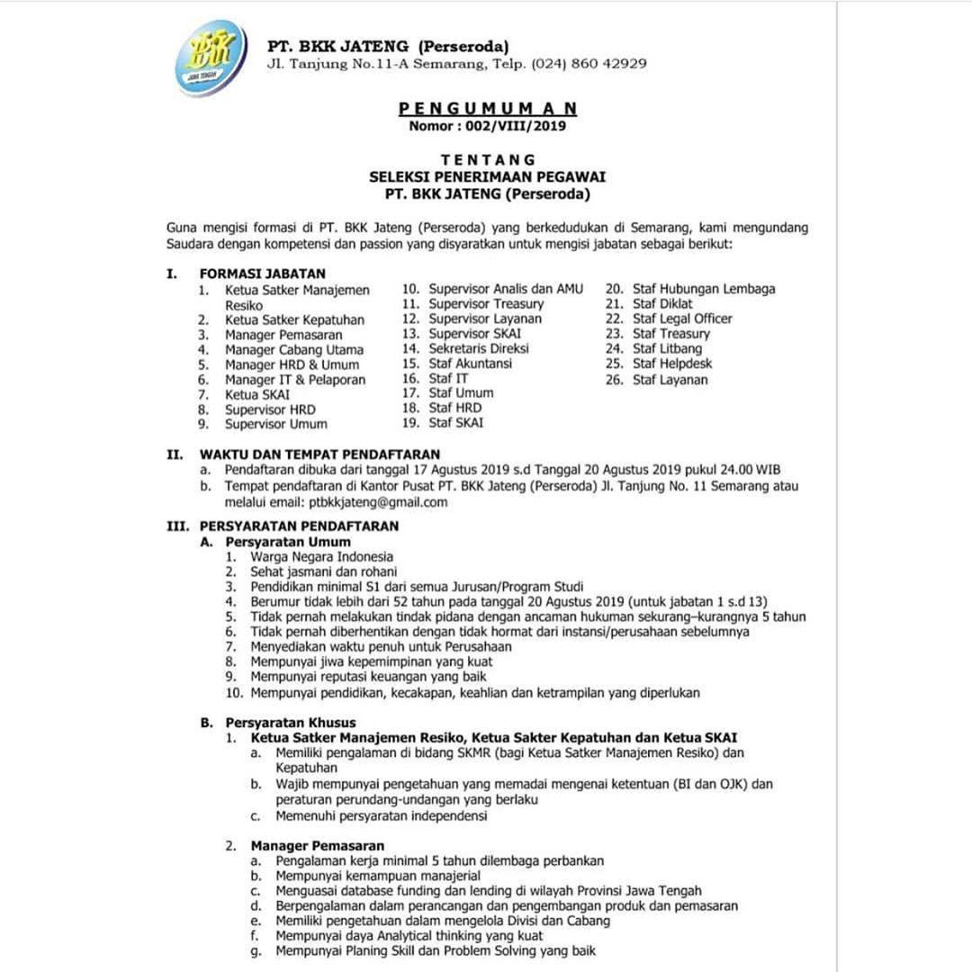 Loker Ungaran Semarang Info Lebih Lengkap Hubungi Kontak Yang Tertera Jangan Lupa Tag Dan Share Ke Temen Kamu Agar U Personalized Items Person Receipt