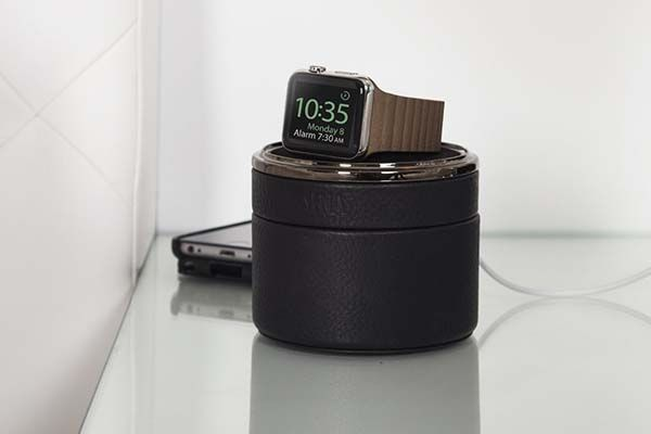 Sena Apple Watch Leather Travel Case Doubles As A Charging Dock Apple Watch Apple Watch Leather Apple Watch Accessories