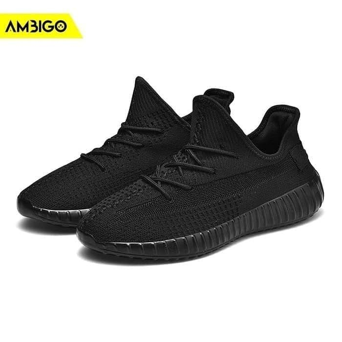 Ambigo Cortex Zoom Cz01 Running Shoes Sepatu Sneakers Olahraga Pria Full Hitam 40 Wa 0895373227652 Specification Quality Import Ba Sneakers All Black Shoes