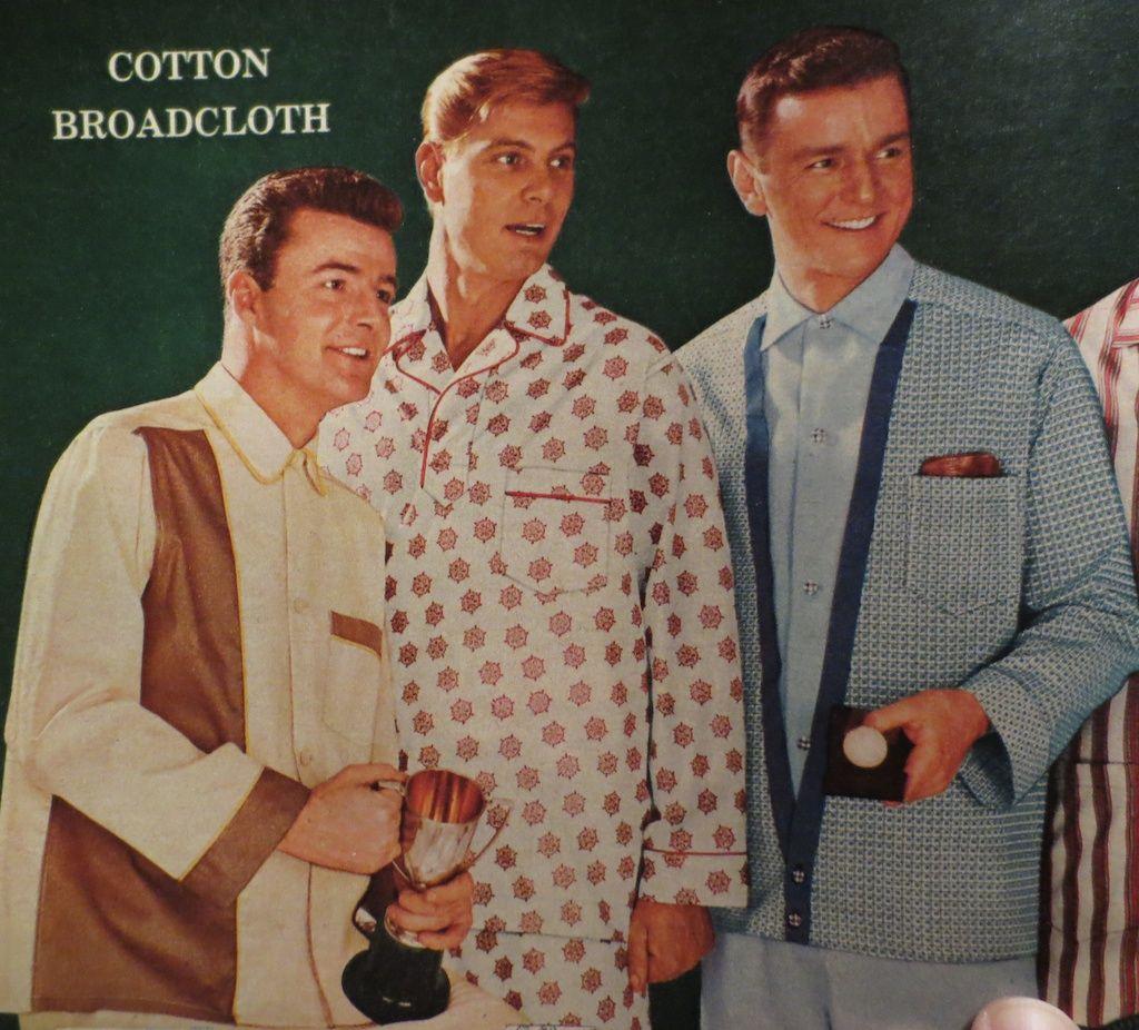 Mens pajamas, Sears catalogue 1959 | Fashion 1950s | Pinterest ...