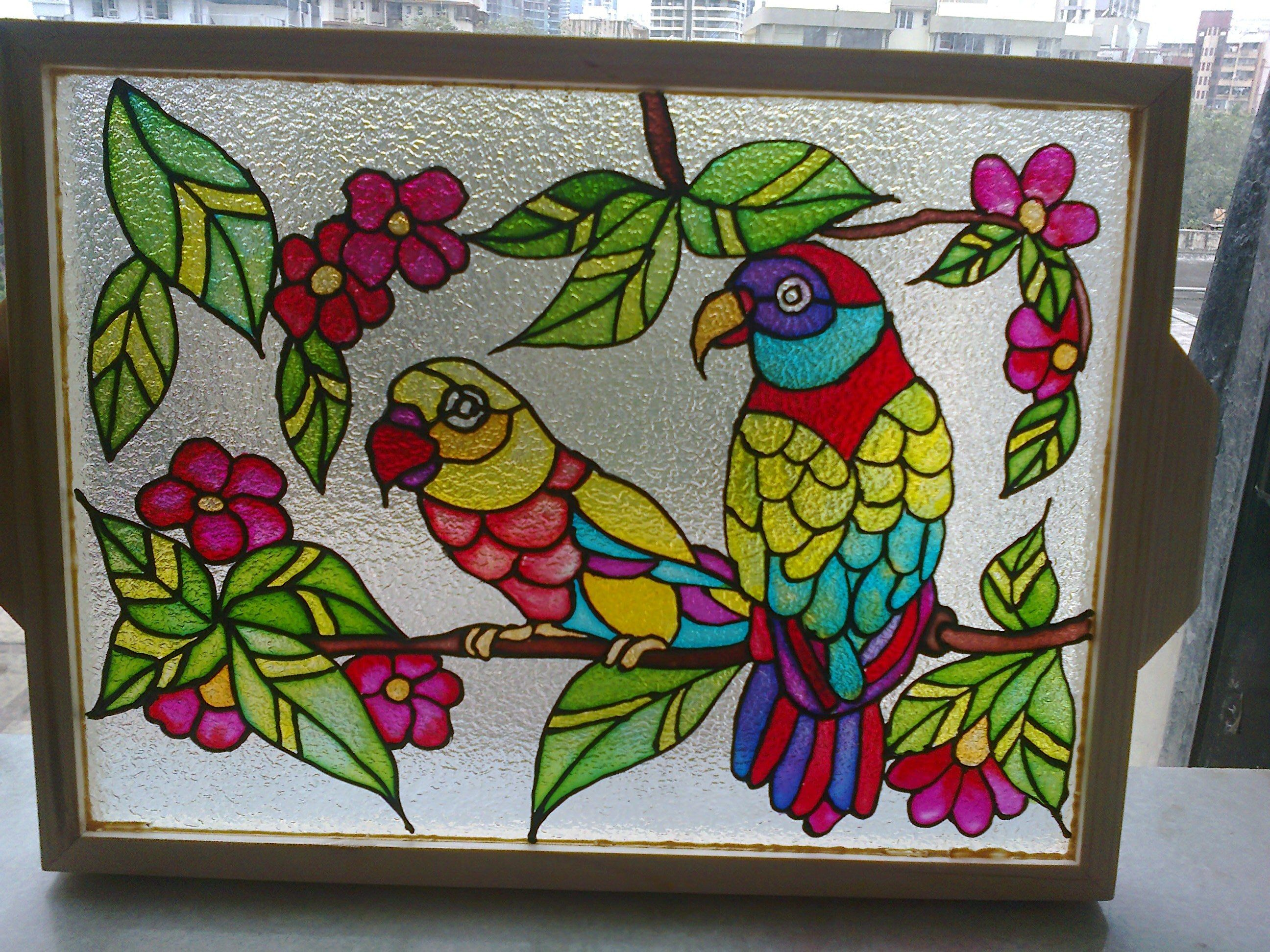 Delightful Glass Painting Designs   Google Search