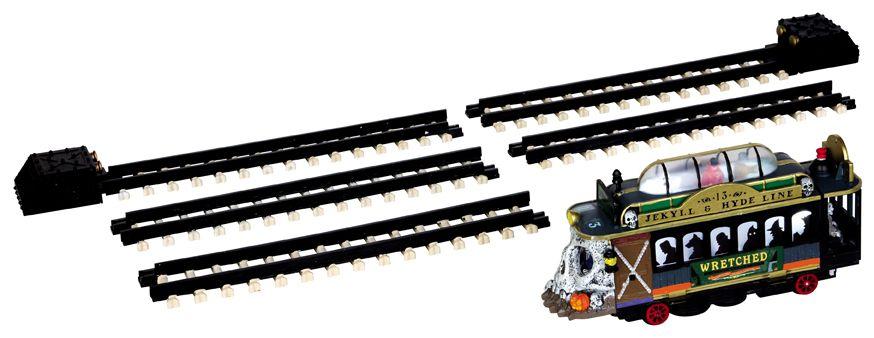Spookytown Trolley, Set of 6 SKU# 44749
