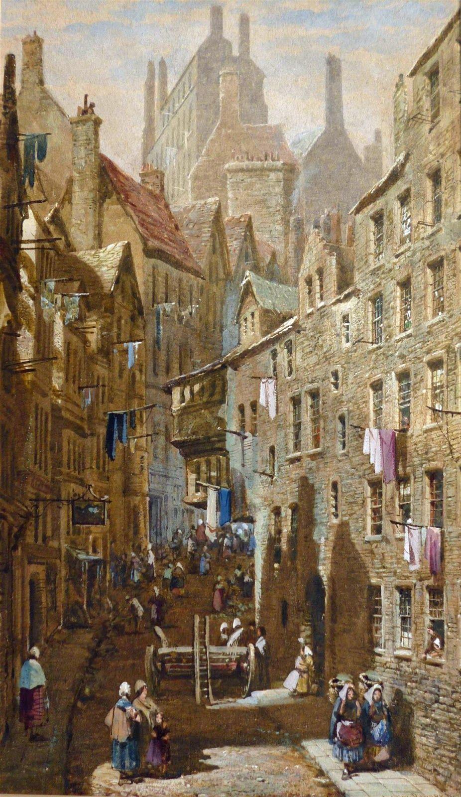Edinburgh by Louise Rayner