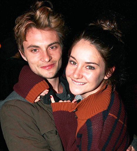 Shailene Woodley with cool, Boyfriend Shiloh Fernandez