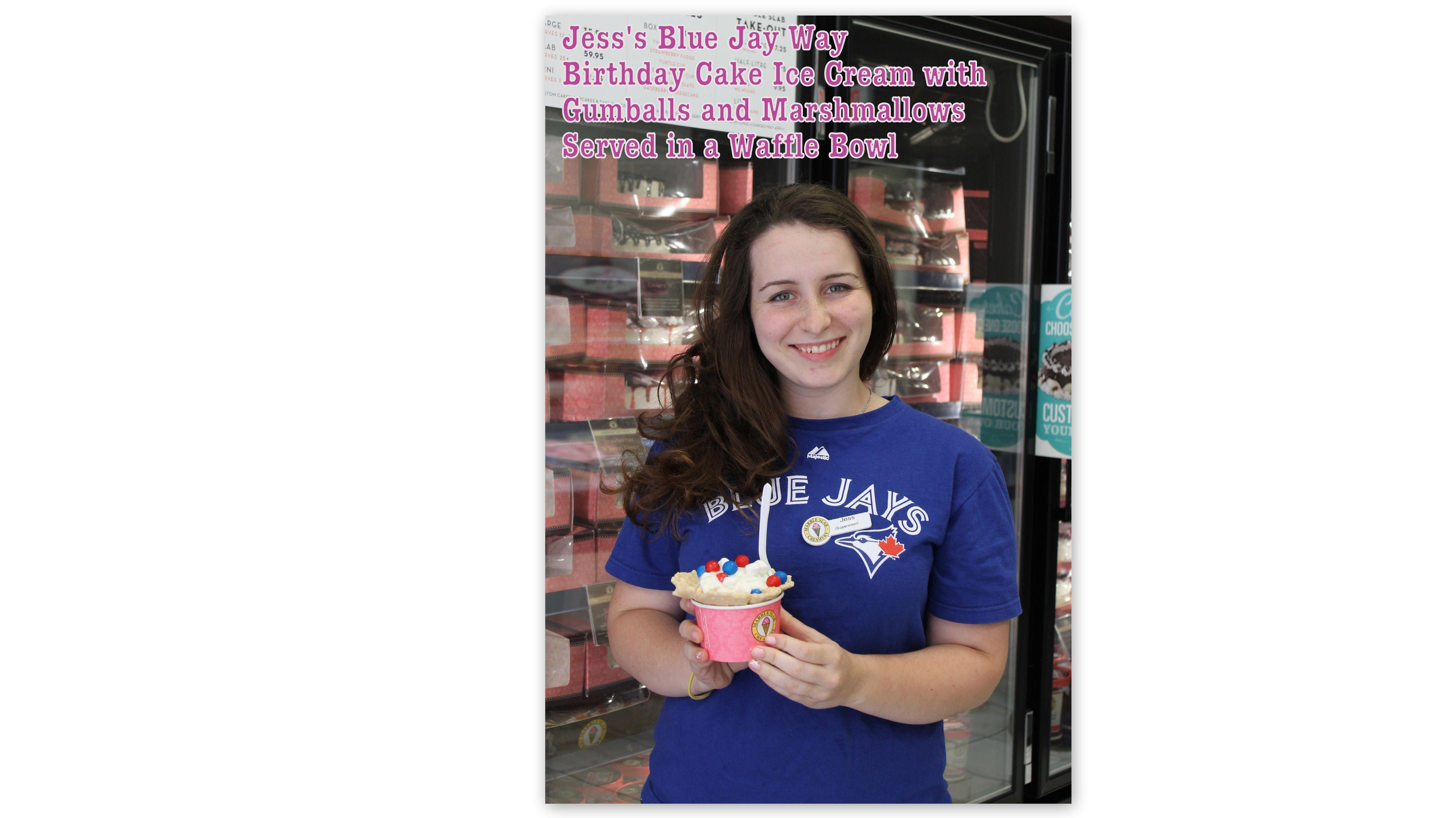 Jessica's Staff Creation #icecream #marbleslab