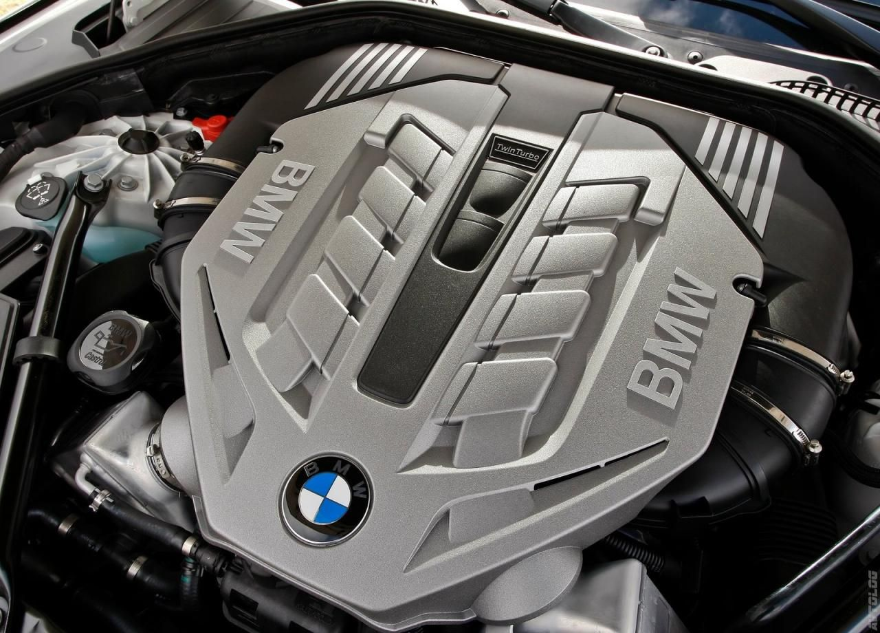 My BMW 750Li Twin Turbo Engine