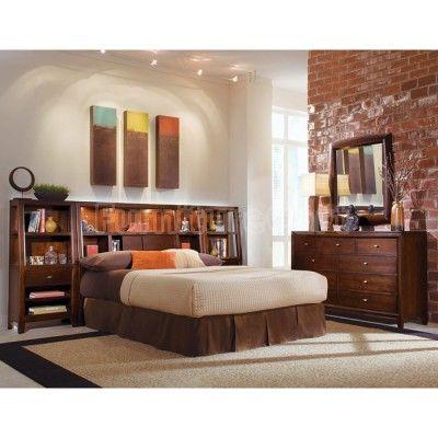 Tribecca Bookcase Headboard Bedroom Set home decordream house