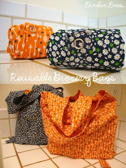 Reusable Grocery Bags- so I can stop collecting 100 grocery bags and continually forget to take them back to the store