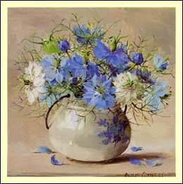 """""""Love-In-A-Mist"""" - by Anne Cotterill"""