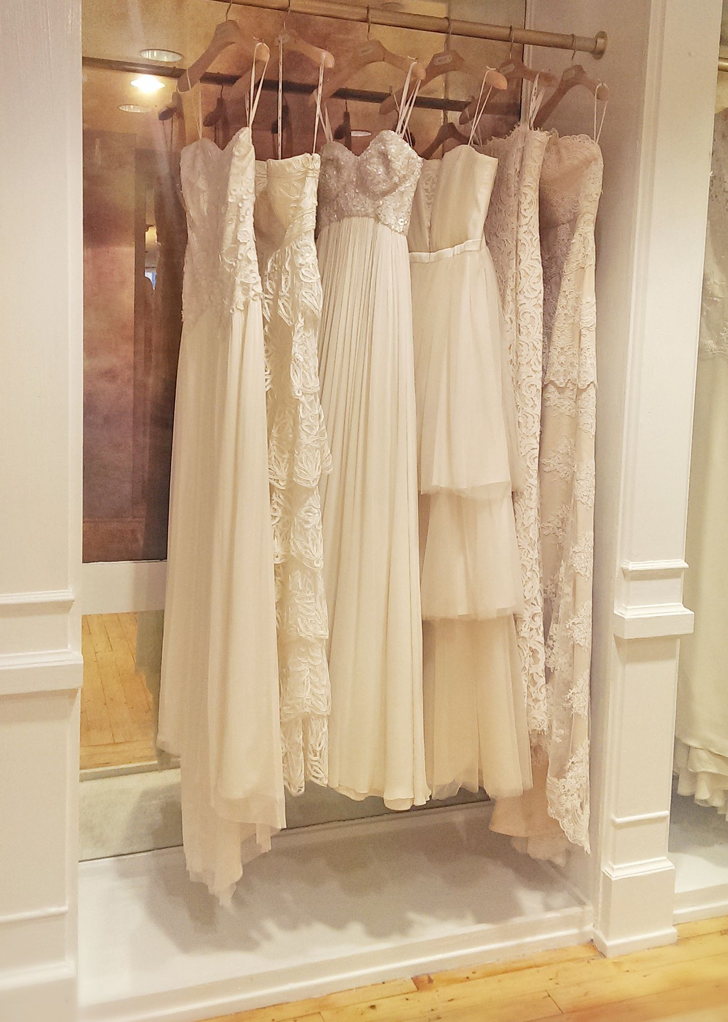a7d9dd924e Beautiful selections of wedding dresses_At the shop #BHLDN Georgetown, DC