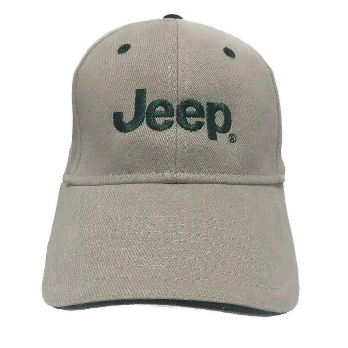 fd0fecfca55 Classic Tan Jeep Men Hat Golf Baseball Cap Casual Outdoor Sun Beach  Adjustable