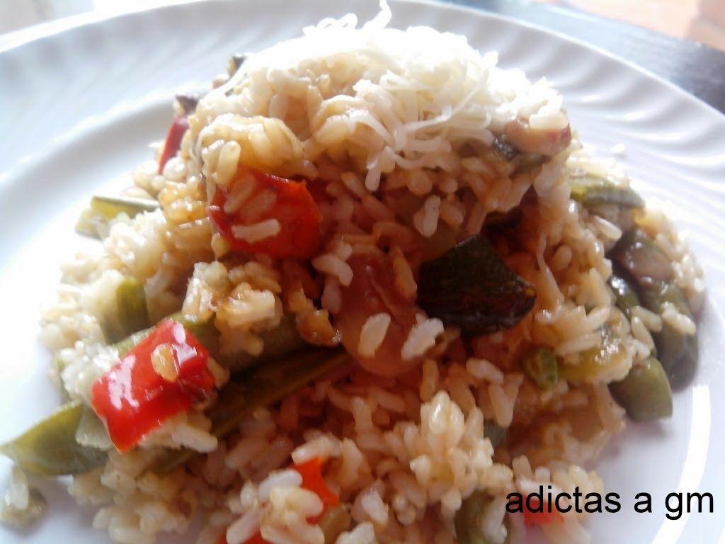 como preparar arroz integral en olla de presion