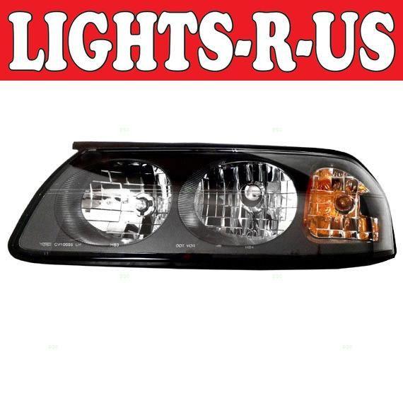 Lights R Us Chevrolet Impala Headlight Lh Left Driver 2000 2001 2002 2003 2004 00 01 02 03 04 2000 Thru 05 Of 2004 Chevrolet Impala Impala Chevrolet
