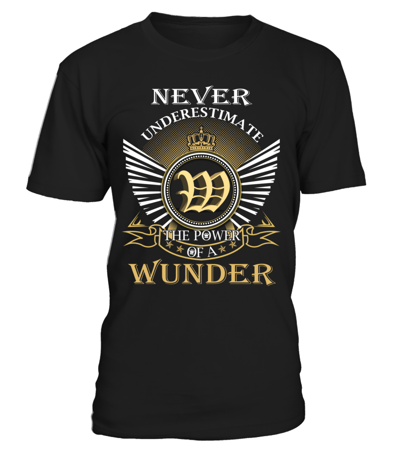 Never Underestimate the Power of a WUNDER