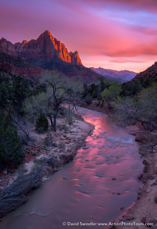 Watchman Sunset by David Swindler on 500px
