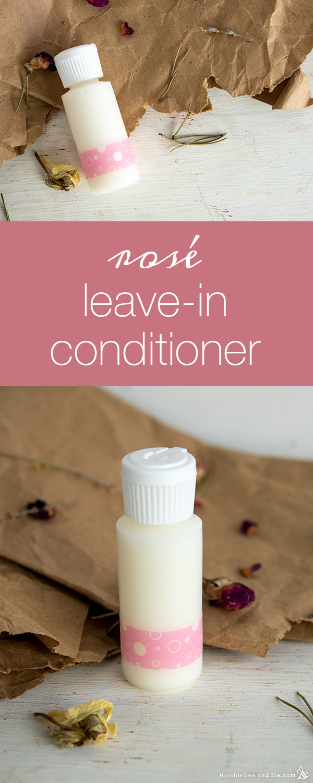 Rosé LeaveIn Hair Conditioner Hair conditioner, Diy