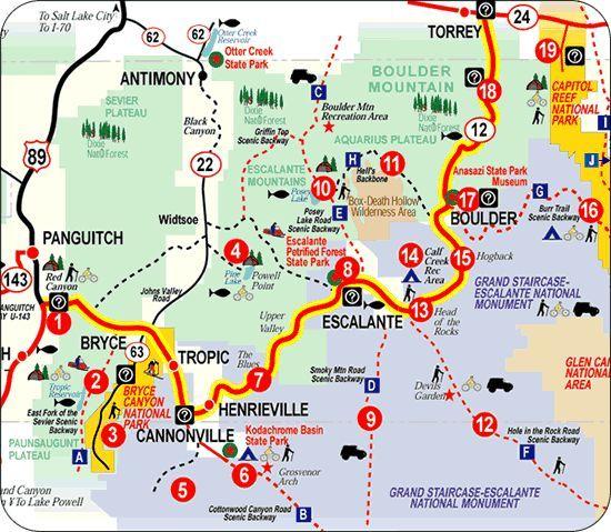 Million Dollar Highway In Utah Utah Travel Utah Road Trip
