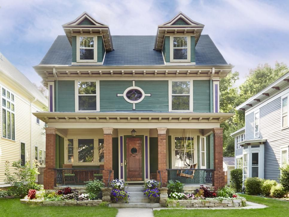 Curb Appeal Ideas From Minneapolis Minnesota House worth, Hgtv